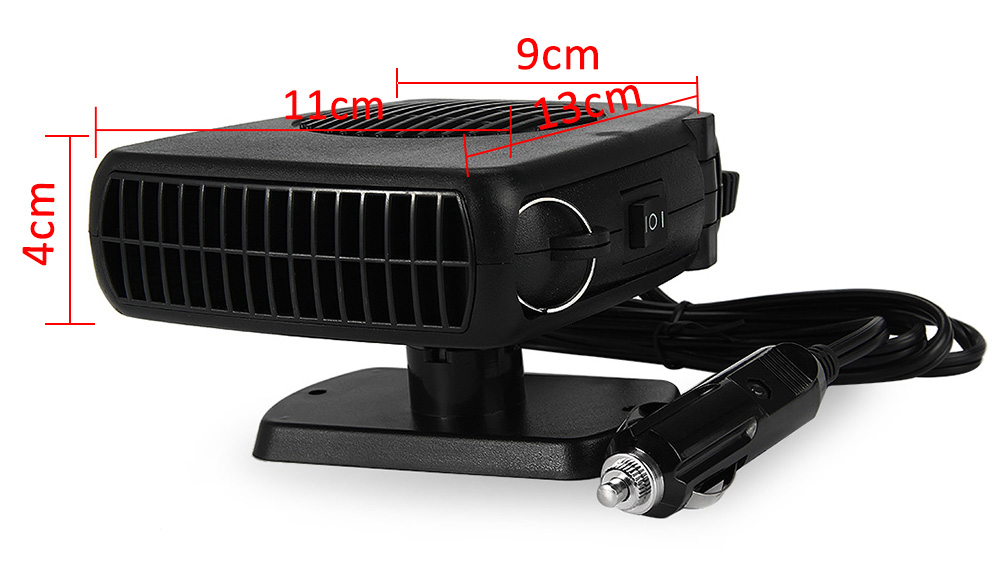 12V 150W Auto Car Heater Heating Fan Defroster Demister