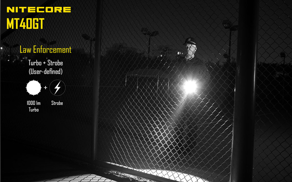 Nitecore MT40GT Cree XP - L HI V3 1000Lm LED Flashlight