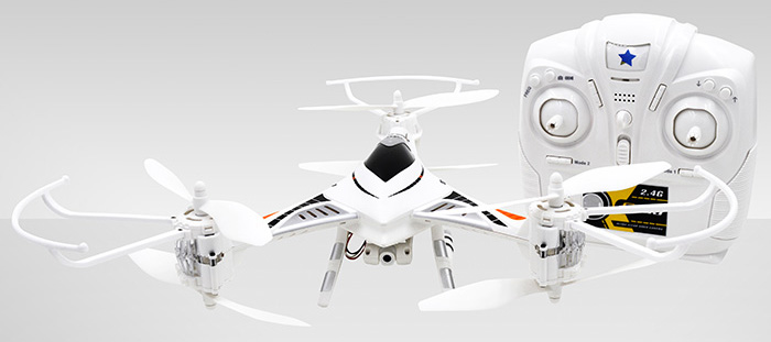 CHEERSON CX - 33C 2.4G 4 Channel HD 1.0MP Camera High Hold Built-in 6 Axis Gyro Tricopter Film / Photography