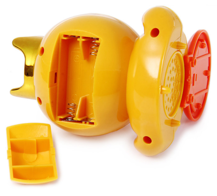Cute Yellow Duck Hand Nail Polish Electrical Dryer Manicure Care Tool