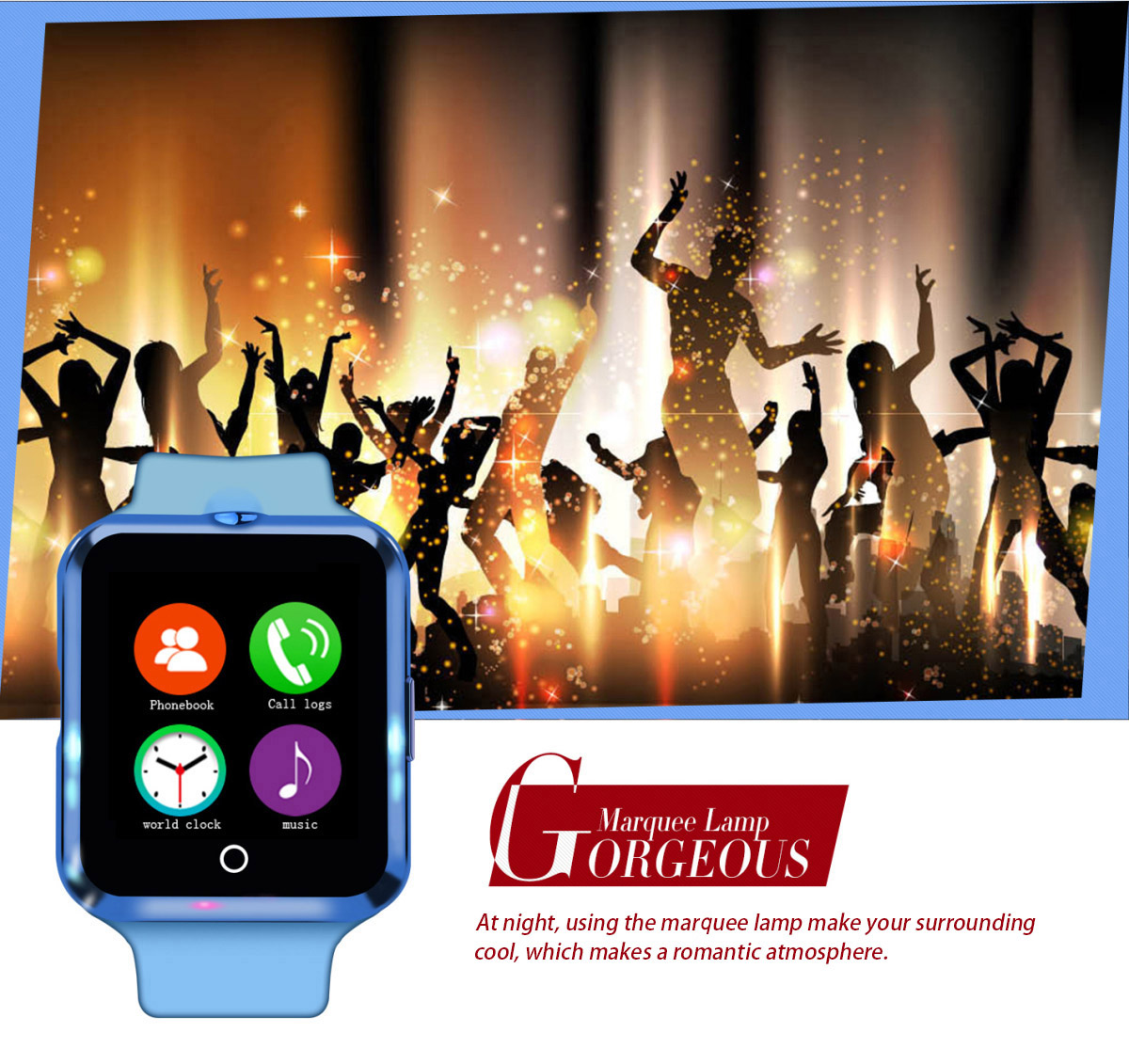 1.22 inch NO.1 D3 Smartwatch Phone MTK6261 Sleep / Heart Rate Monitor Sedentary Reminder Alarm Remote Camera