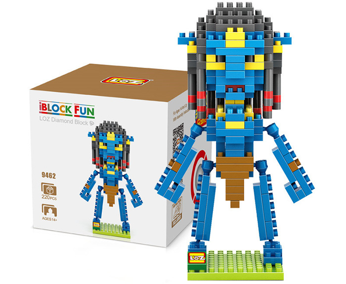LOZ L - 9462 Neytiri Figure Micro Diamond Building Block 220Pcs Educational Kid Toy