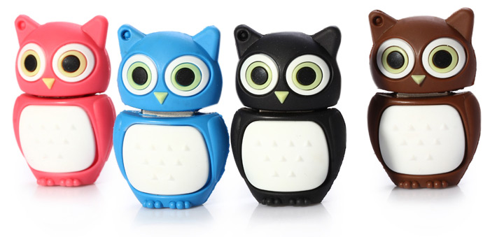 32GB USB 2.0 Flash Memory Owl Style for Festival Gift / Business / Storage