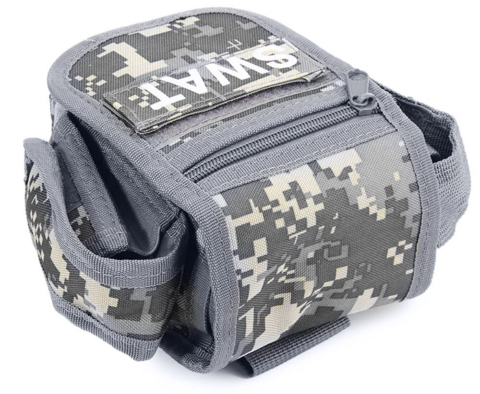 Outdoor Pocket Small Square Military Fans Tool Bag Mobile Pouch
