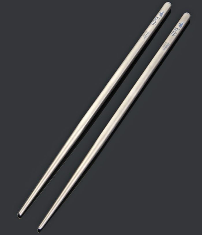Keith Ti5622 Titanium Alloy Chopsticks with Rectangular Shape
