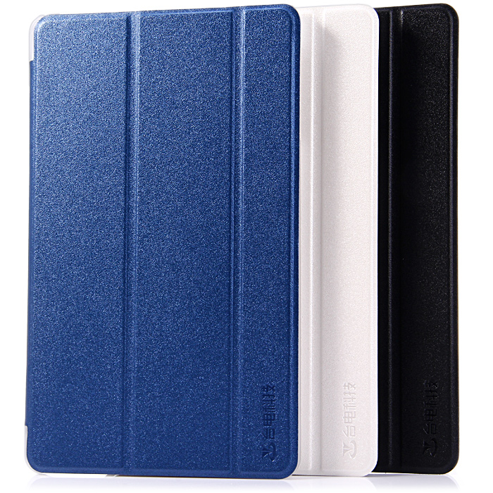 PU + Plastic Leather Protective Case with Triple Folding Design for Teclast X80 HD / X80 PLUS / P80-3G / X80 PRO