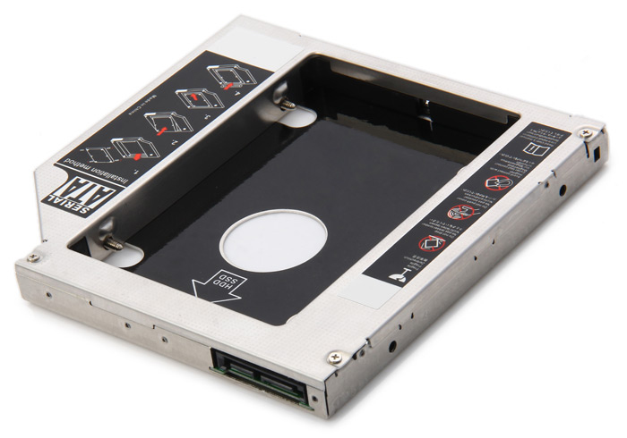 Reamax Iron Man HDD Caddy Tray SATA 3.0 Case Work with 9.5mm Notebook