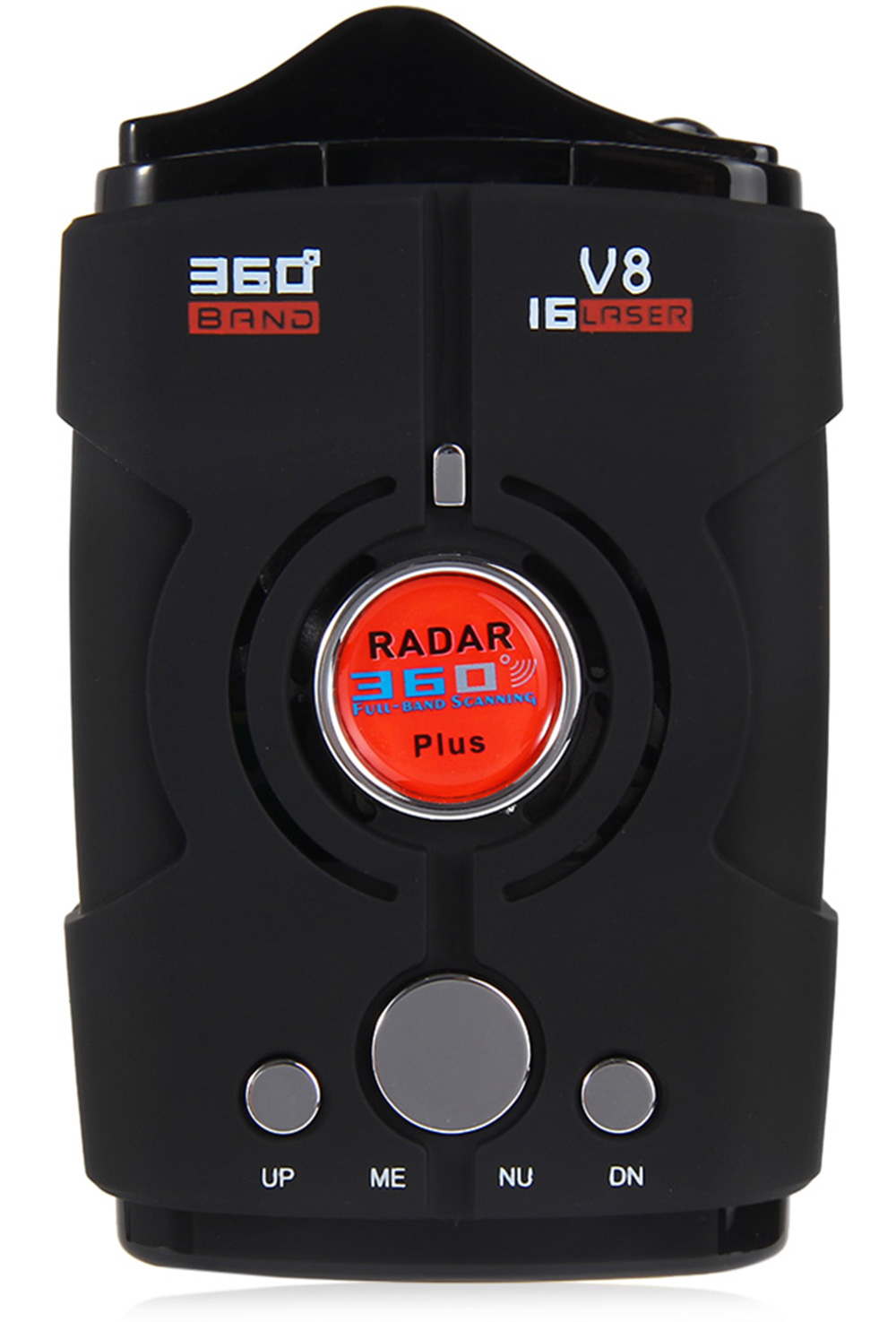 Car Trucker Speed V8 Radar Detector Voice Alert Warning 16 Band Auto 360 Degrees