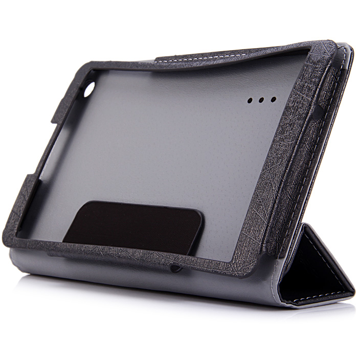 PU Leather Protective Case with Triple Folding Design for Teclast P80