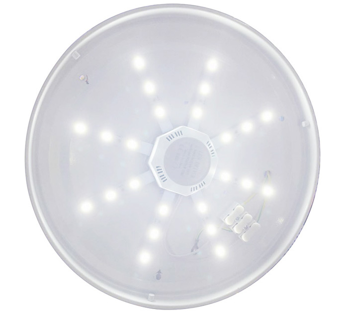12W 24 x SMD 5730 960Lm Octagonal LED Ceiling Lamp Fixture