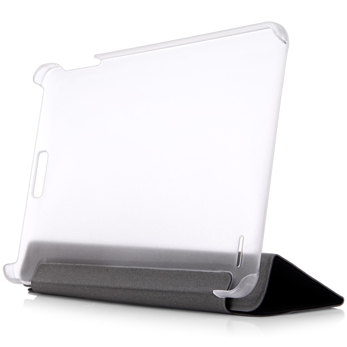 PU + Plastic Protective Case with Triple Folding Design Stand Function for Onda V891
