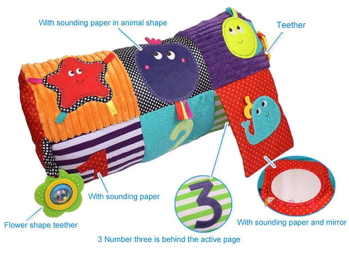 Colorful Music Infant Blanket Mat Soft Cushion Bed Developmental Toy