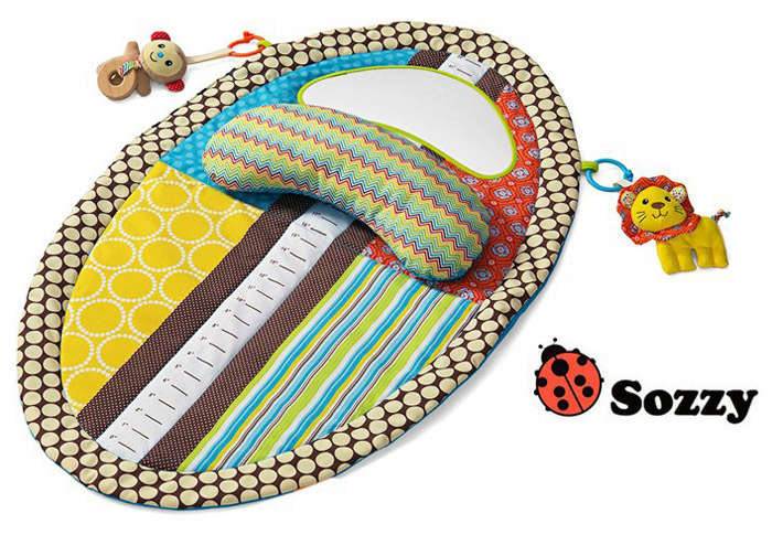 Practical Baby Tummy Time Musical Mat Water Resistant Infant Bed Kids Developmental Toy