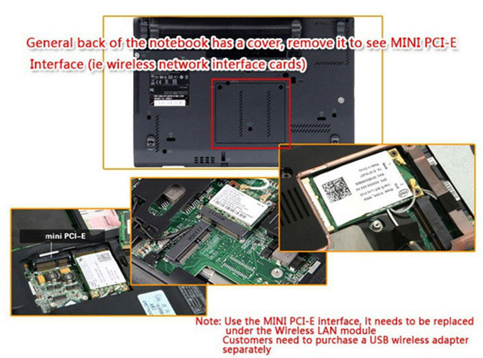 EXP GDC Beast Laptop External Independent Video Card Dock + Expresscard Cable with Dual TD Switch 6Pin Forward