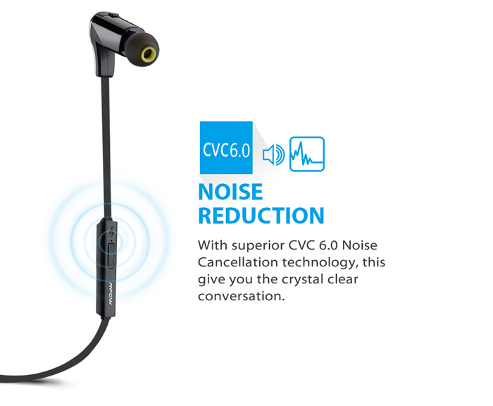 mpow swallow bluetooth v4 1 sport earbuds with mic online shopping gea. Black Bedroom Furniture Sets. Home Design Ideas