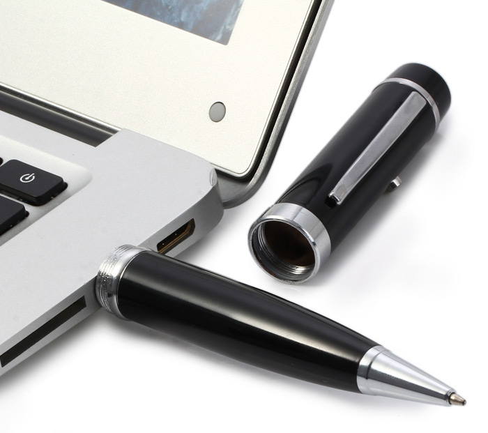 3 in 1 Ballpoint Pen Style USB 2.0 16GB Flash Drive
