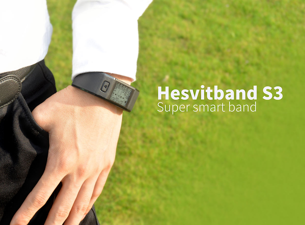 Hesvit S3 Smart Hesvitband Wrist Temperature Tracking Wristband