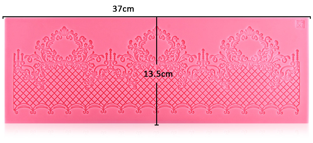Silicone Lace Mold Fondant Cake Pastry Decorating Tool