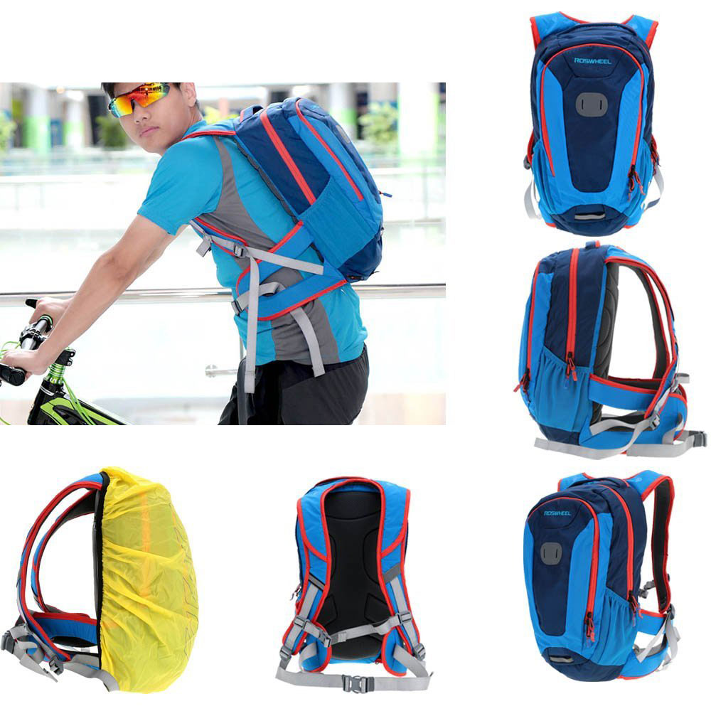 ROSWHEEL 18L Outdoor Sport Cycling Backpack MTB Climbing Hiking Accessories