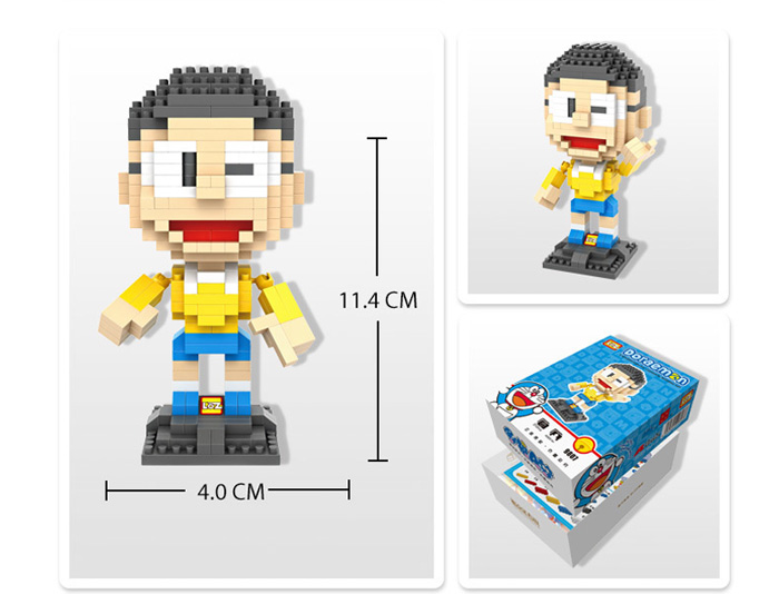 LOZ 310Pcs XXL - 9807 Doraemon Nobi Nobita Building Block Educational Toy Christmas Present