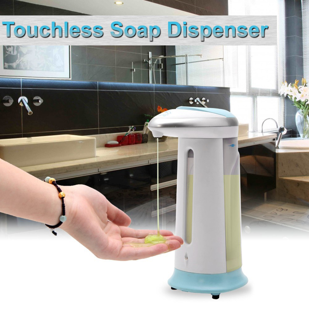 AD - 08 400ml Stainless Steel Automatic Soap Dispenser Touchless Sanitizer Dispenser