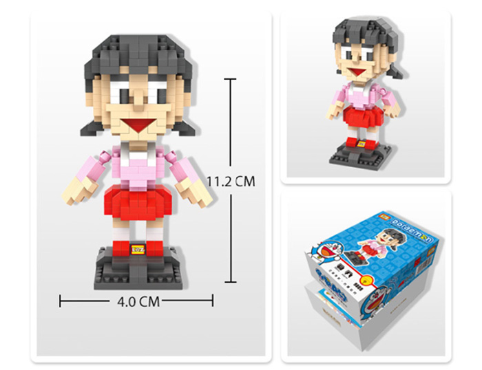 LOZ 360Pcs XXL - 9809 Doraemon Shizuka Minamoto Building Block Educational Toy Christmas Present