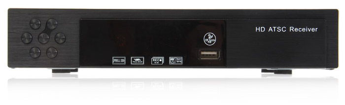 ATSC-8902 1080P TV Receiver Media Player with USB 2.0 / ANT / HDMI / Audio Slot Support 3D