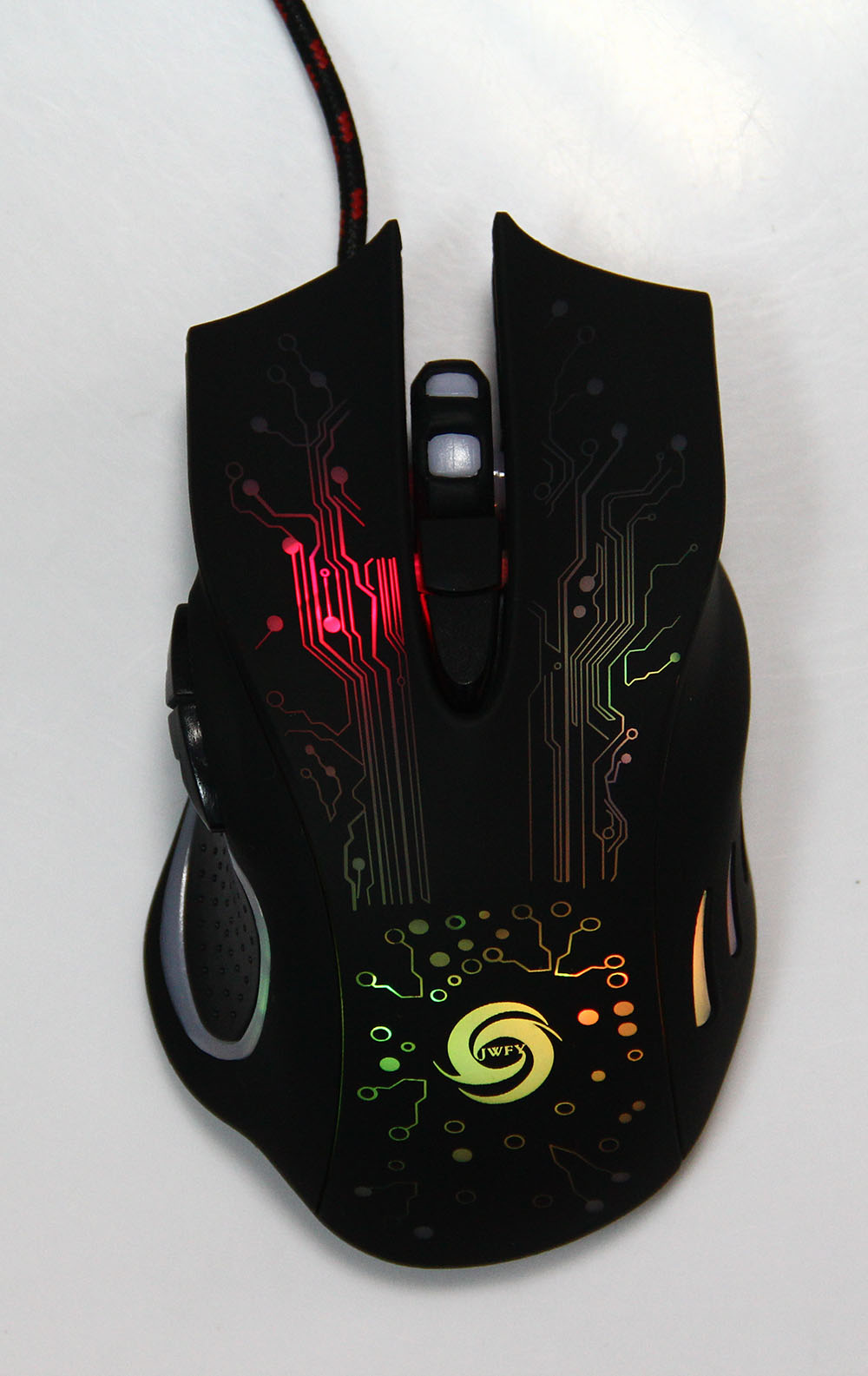 6 Buttons DPI Adjustable Optical USB Wired Gaming Mouse