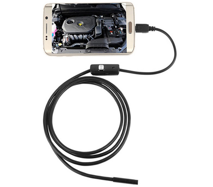3.5m FS-AN02 Android Endoscope IP67 Waterproof with Inspection Snake Tube Camera