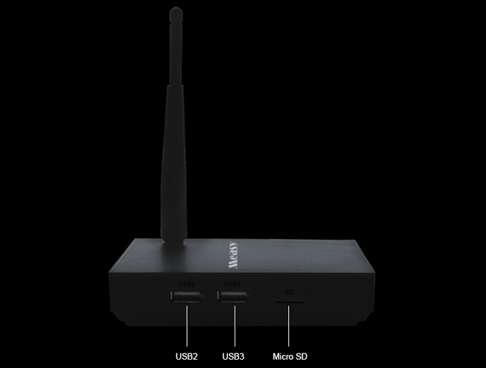 Measy B4TS TV Box Amlogic S905 Quad Core Android 5.1.1 2.4G WiFi HD 2.0 1GB 8GB Google TV Player