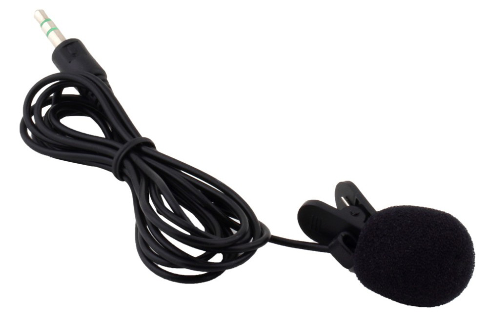 NEWGOOD N - P2 Tiny Lapel Lavalier Mic Easy-taking Lightweight 3.5mm Plug for PC / Laptop / Tablet