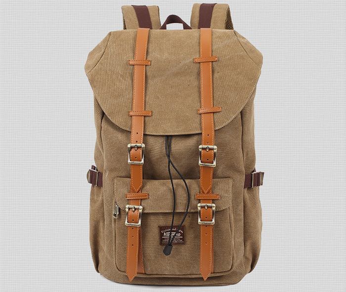 KAUKKO 15L Unisex Backpack with Draw Cord