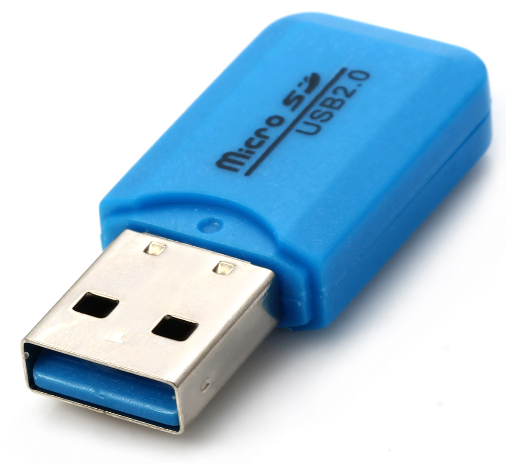 Small Cool Ice Type USB 2.0 TF Card Reader