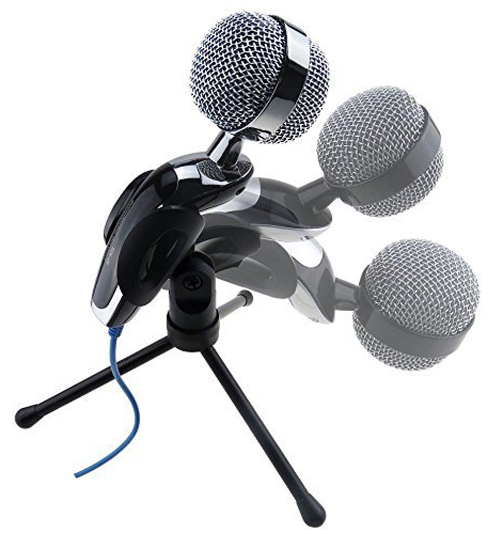 SF-922B USB Condenser Microphone Mic Studio Audio Sound with Stand