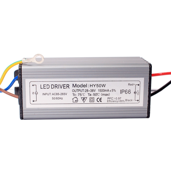 HY 50W 28 - 38V 10 Series 5 Parallels LED Driver Power Source