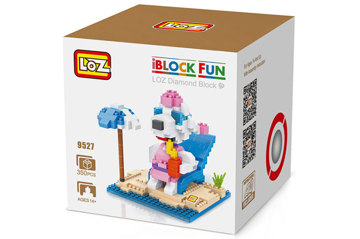 LOZ No. 9527 Snoopy Sweet Vacation Building Block for Teenager / Adult