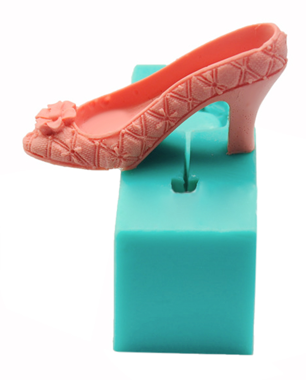 3D Food Grade High-heeled Shoes Silicone Bakerware Mold Kitchen Tool
