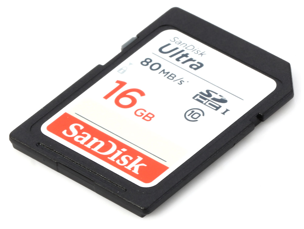 Original SanDisk Ultra SDHC UHS-I 16GB Memory Card 80MB/s Class 10 Storage Device