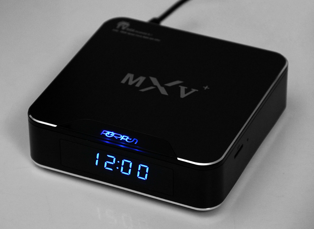 MXV+ S905 TV Box Amlogic S905 Quad Core Android 5.1 WiFi HD 2.0 1GB 8GB Google TV Player