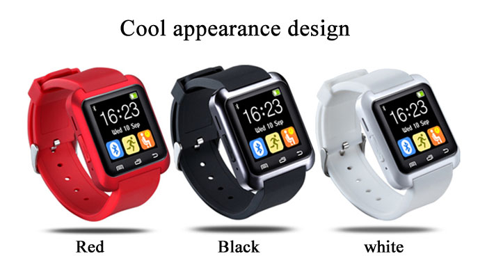 U80 Smart Watch with Sleep Monitor Pedometer Function