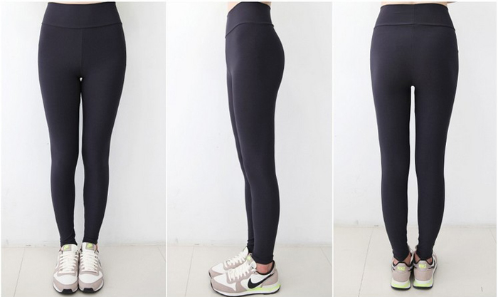 Aeropus Female Yoga Ninth Pants Elastic Polyester Made
