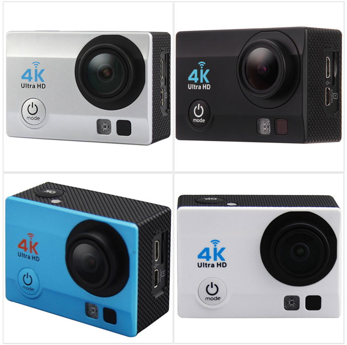 Q3H 4K Ultra HD Wireless WiFi 16.0MP 2 inch LCD Action Camcorder with Allwinner V3 Chipset OV4689 Image Sensor 170 Degree Wide Angle