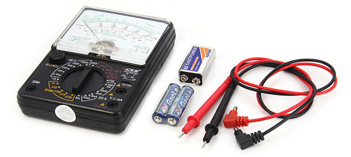 Victor VC3010 Handheld Pointer Multimeter with Circuit Protection