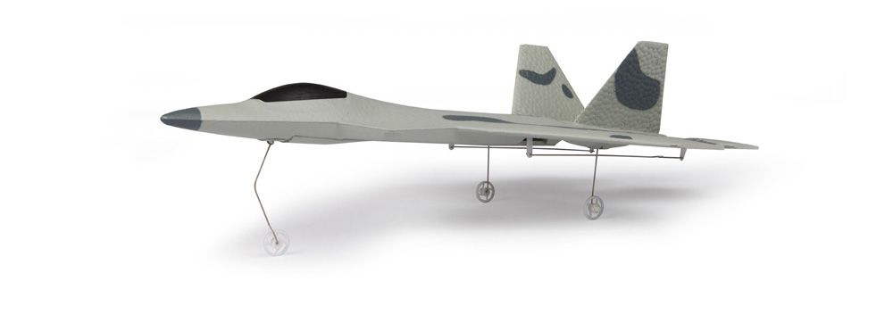 Macfree F - 22 F22 MCF2201 Brushless 2.4GHz 6CH Built-in 6 Axis Gyro Fixed-wing 222mm Wingspan Aeroplane RTF