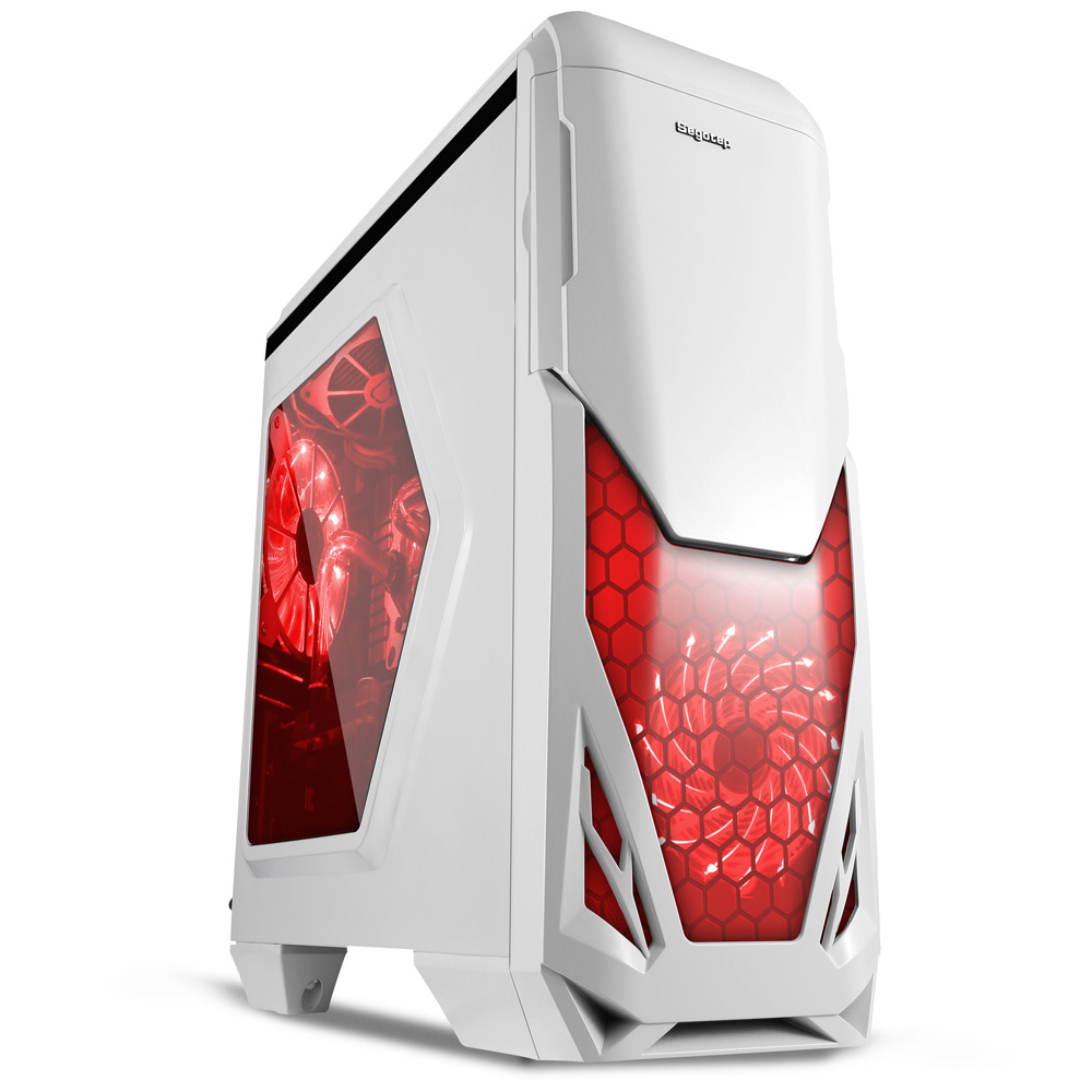 Segotep Blade Mid Tower Gaming Computer Case PC Box