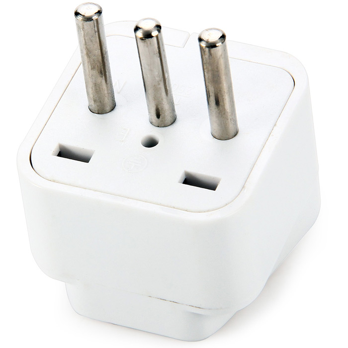 WD-12 Italy Plug to Universal Socket Adapter Power Plugs Converter