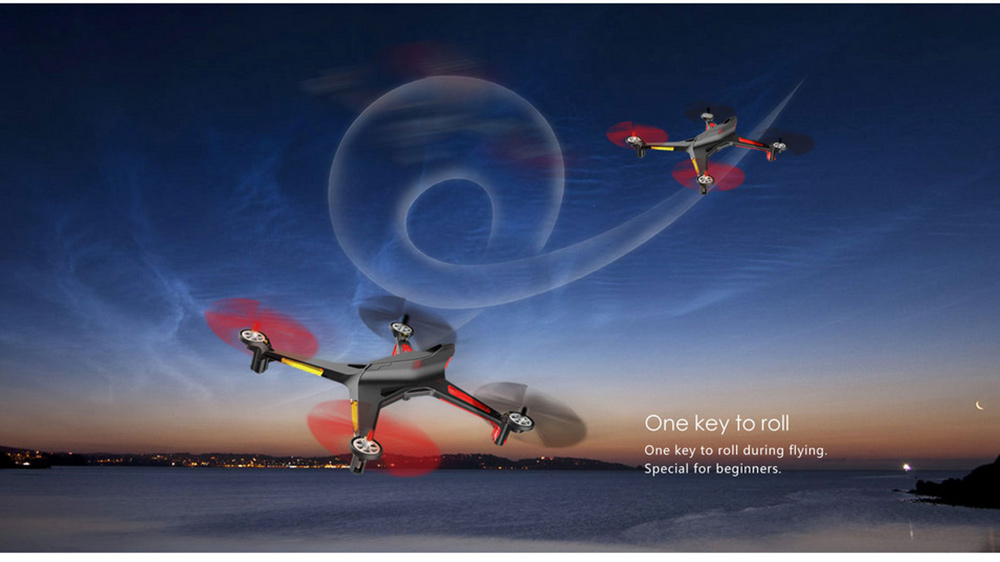 XK X250 - A 5.8GHz FPV HD 2.0MP CAM 2.4G 4 Channel 6-axis Gyro Remote Control Quadcopter