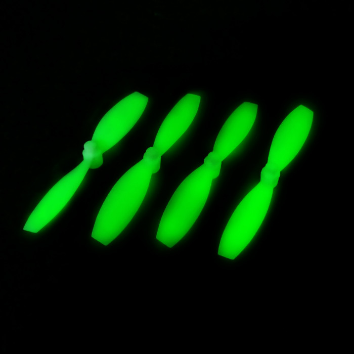 4Pcs Floureon H101 H101 - 005 Luminous Propeller RC Quadcopter Spare Parts