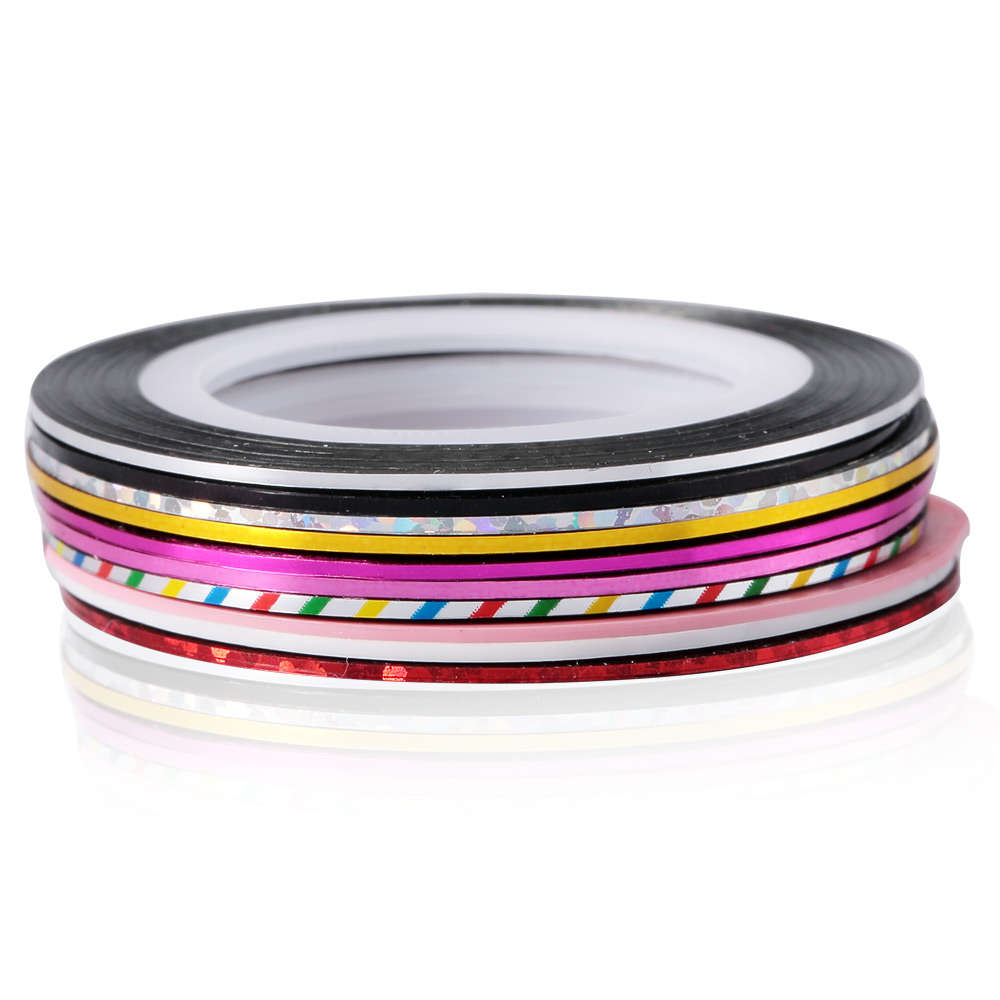 Charming Manicure Decoration Fashionable Nail Art Strip Tape Line