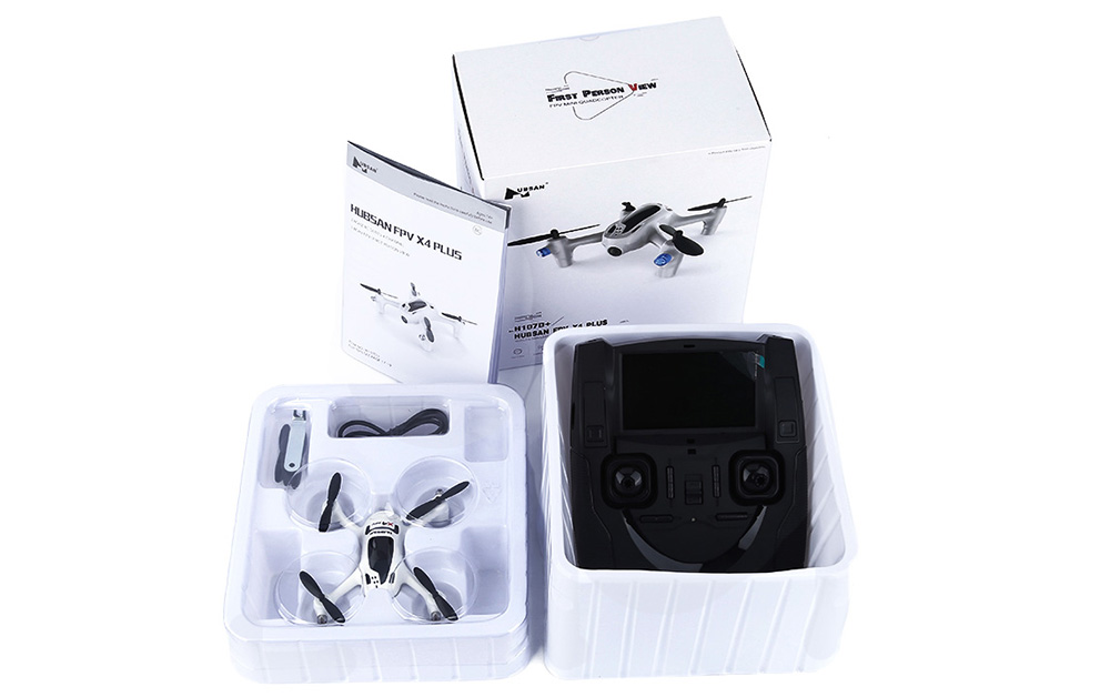 New Version Hubsan FPV X4 Plus H107D+ With 2MP 720P Wide Angle Camera RC Quadcopter
